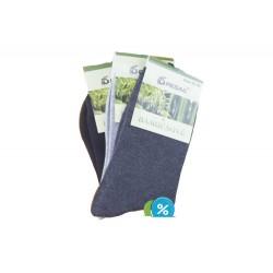 Dámske bambusové ponožky SN1100B - 3 páry - Pesail