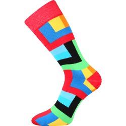 Unisex ponožky - Štvoruholníky - Voxx