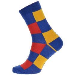 Unisex ponožky - Farebné kocky - WiTSocks