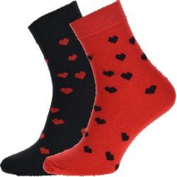 Unisex ponožky - Srdce - WiTSocks