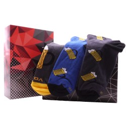Darčeková súprava 3 párov členkových ponožiek - Pivo - Voxx