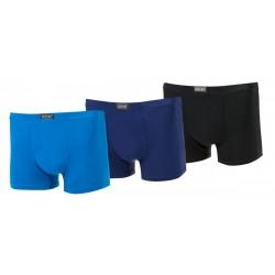 Bavlnené boxerky 340 - jednofarebné - 1 ks - Pesail