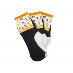 Dámske podčlenkové bavlnené ponožky - 3 páry - Emi Ross