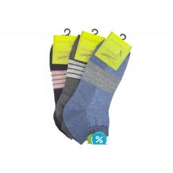 Pánske členkové bambusové ponožky BB18607 - 3 páry - Bambus soX