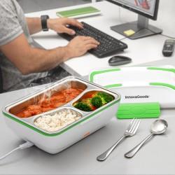 Elektrická krabička na jedlo - 50 W - bielozelená - InnovaGoods