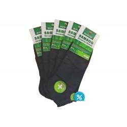 Dámske členkové bambusové ponožky NND835 - 5 párov - Auravia