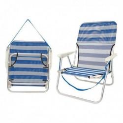 Čalúnená skladacia stolička