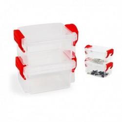 Súprava stohovateľných hermeticky uzavretých boxov - 2 ks - Confortime