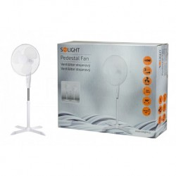 Stojanový ventilátor 1S22 - 40 cm - 45 W - biely - Solight
