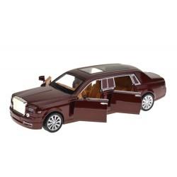Kovové autíčko Rolls-Royce Phantom so zvukom a svetlom - mierka 1 : 28