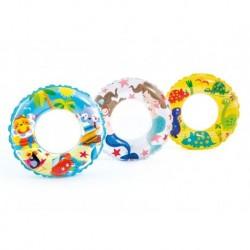 Nafukovací kruh - vodný svet - 61 cm - 6 - 10 rokov - Intex