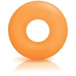 Nafukovací kruh - neónovooranžový - 91 cm - Intex
