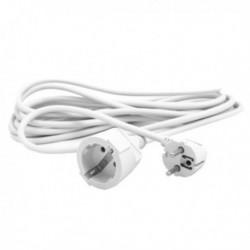 Predlžovací kábel Schuko Silver Electronics - biely - 3 m