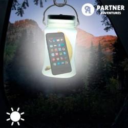 Silikónová nádoba so svetlom na solárnu energiu - Partner Adventures
