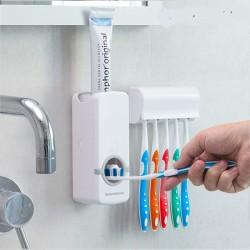 Dávkovač zubnej pasty s držiakom na kefky - InnovaGoods