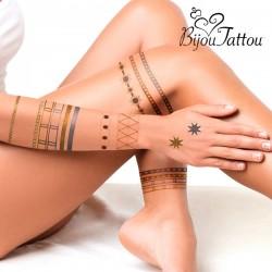 Dočasné tetovanie Bijou Tattou - InnovaGoods