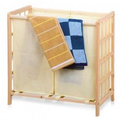 Kôš na bielizeň - drevený - Confortime