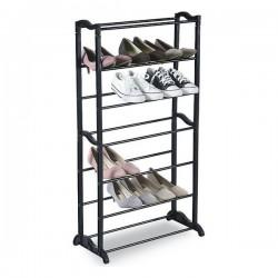 Topánkovník na 21 párov topánok - čierny - Confortime