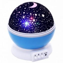 Projektor nočnej oblohy - modrý