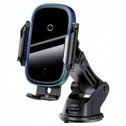 Bezdrôtová nabíjačka do auta WXHW03-01 - 15 W - čierna - Baseus