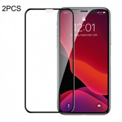 Nárazuvzdorné tvrdené sklo na Apple iPhone 11/XR Q/SSCZ 004-2020 - 2 ks - Baseus