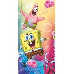 Osuška - SpongeBob a Patrick - 140 x 70 - Jerry Fabrics
