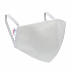 Ochranné jednorazové rúško - biele - New Baby