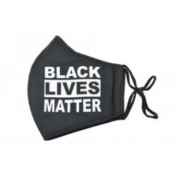 Textilné rúško na viac použití - BLACK LIVES MATTER