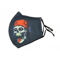 Textilné rúško na viac použití - Skull cap
