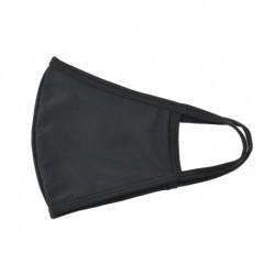 Textilné rúško na viac použití - čierne - 1 ks