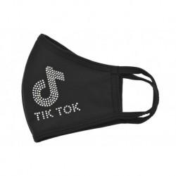 Textilné rúško na viac použití - TikTok - kamienky