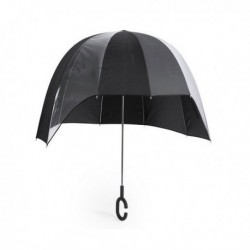 Dáždnik v tvare kupoly 145553 - čierny