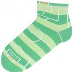 Členkové unisex ponožky - futbalové ihrisko - WiTSocks