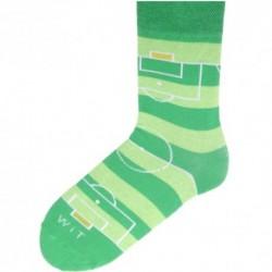 Unisex ponožky - futbalové ihrisko - WiTSocks