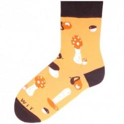 Unisex ponožky - huby - WiTSocks