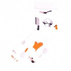 Unisex ponožky - kuchár - WiTSocks