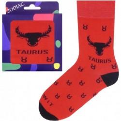 Unisex ponožky so znamením zverokruhu - býk - WiTSocks