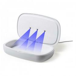 UV sterilizátor 146670 - s integrovanou bezdrôtovou nabíjačkou - biely