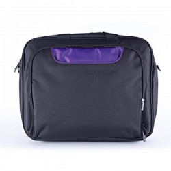 Taška na notebook - 15,6 - čierno-fialová - Approx