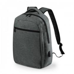 Univerzálny batoh s USB portom 146453 - sivý