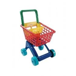 Detský nákupný košík - červený - Dohány
