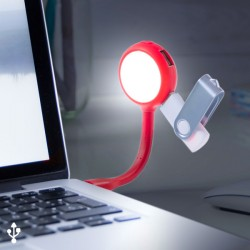 LED lampa do notebooku s USB portmi 144858
