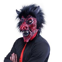 Maska pre dospelých - čert - Rappa