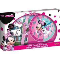 Súprava na učenie času - s Minnie Mouse - Euroswan