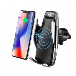 Bezdotykový 2 v 1 držiak na telefón so senzorom a bezdrôtovým nabíjaním