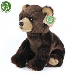 Plyšový medveď - sediaci - 25 cm - Rappa