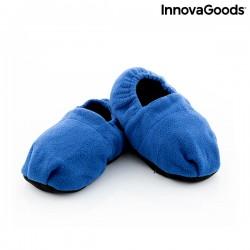 Papuče ohrievateľné v mikrovlnnej rúre - modré - InnovaGoods