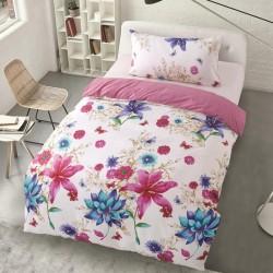 Microtop obliečky - s kvetinovým motívom - Noemi - 140 x 200 cm