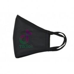 Textilné rúško s perleťovým efektom - TikTok