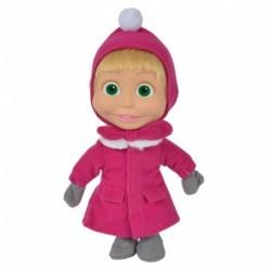 Máša v zimnom kabáte - 23 cm - Máša a Medveď - Simba